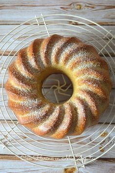 Bizcocho de Canela y Anís - Con Harina En Mis Zapatos Pie Cake, Pound Cake, Bunt Cakes, Cooking Time, Doughnut, Bakery, Keto, Bread, Sweet