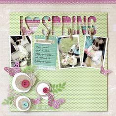 i 3 Spring - Scrapbook.com