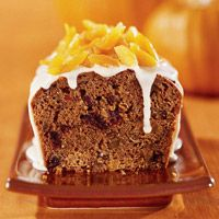 Fruited Pumpkin Loaf - uses boxed pumpkin bread mix as a base