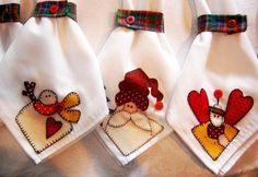 panos de cozinha bordados