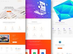Startup Landing Page by Lavi