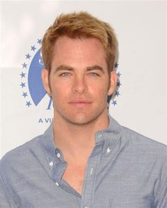#ChrisPine. That is all. See more celebs on Wonderwall: http://on-msn.com/1dr4hox