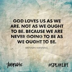 Toby Mac speak life