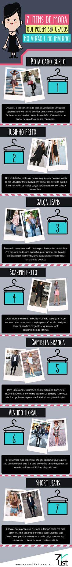 7 itens de moda que serve para o verão e para o inverno