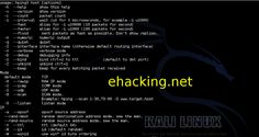 Hping Network Security – Kali Linux Tutorial http://www.ehacking.net/2013/12/hping-network-security-kali-linux.html