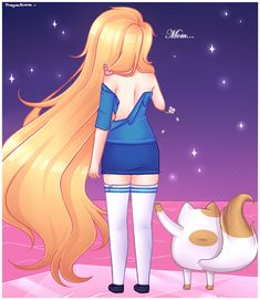 Escape from the Citadel by KawaiiUchuujin Adventure Time Fiona Mertens The Human Cake The Cat gender bend fanfic