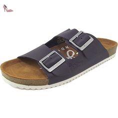 Pepe Jeans Bio Basic, Mules homme, bleu foncé (sailor), 45 - Chaussures pepe jeans (*Partner-Link)