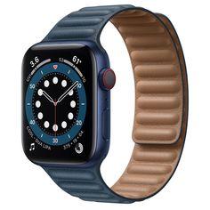 Bracelet Sport, Bracelets, Or Noir, Apple Watch Series, Buy Now, Smart Watch, Black Leather, Watches, Locs