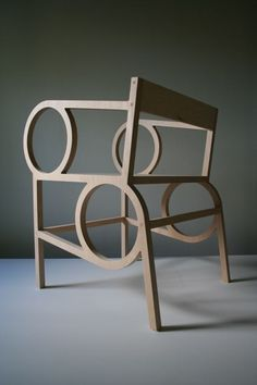 Circle Arm Chair by Christopher Kurtz.