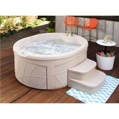 rock solid luna plug and play spa