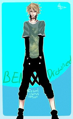 Ben drowned casual clothes version by 123Shei-chan321