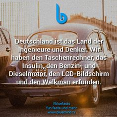 15 facts about Germany - bluemind.tv - 15 incredible facts and useless knowledge about Germany. Wtf Fun Facts, Funny Facts, Leadership Quotes, Education Quotes, Funny Relatable Memes, Funny Quotes, Ah Ok, Useless Knowledge, Fun Facts About Animals