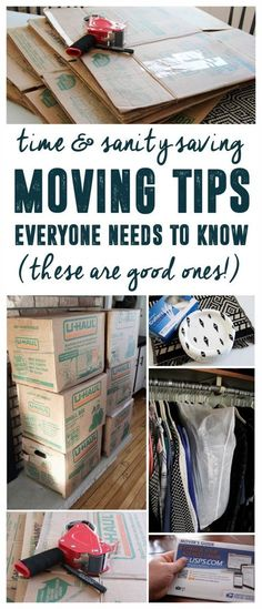Moving Tips Everyone Needs to Know. These moving tips are good!