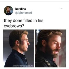 "1,110 Likes, 11 Comments - Dat One Gay Ass Accont (@pietro.and.a.assassin) on Instagram: ""Honestly bearded cap does things to me  - #captainamerica #steverogers #chrisevans #marvel…"""