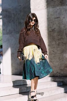 Paris Fashion Week SS 2015....Valentina