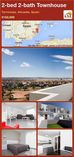 Townhouse for Sale in Torrevieja, Alicante, Spain with 2 bedrooms, 2 bathrooms - A Spanish Life Valencia, Portugal, Torrevieja, Sports Complex, Residential Complex, Alicante Spain, Indoor Swimming Pools, Sandy Beaches, Ground Floor