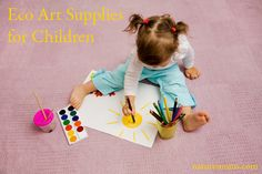 Hot on the trail of my post about Young at Art I want to discuss eco friendly art supplies. So what do you think about when you consider children's art supplies? The first thing that comes to mind is probably the Crayola crayon. It is the most popular brand of crayon used by millions of...