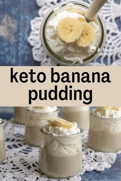 If you've been hunting for the best Keto Banana Pudding ever, you have found it! This creamy banana pudding is made with 7 ingredients, and it's incredible. Great for all occasions! Made with raw cacao butter and coconut milk it is full of healthy fats to satisfy your dessert craving. This easy recipe is low carb, dairy-free, sugar-free, gluten-free, grain-free, and Trim Healthy Mama friendly.