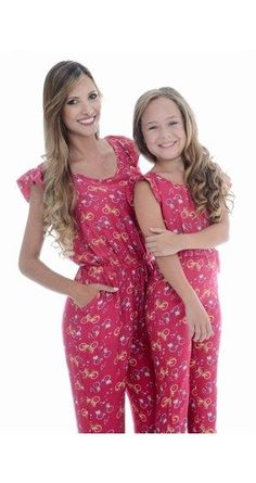 It's Mommy and Me (I, for you English majors). Mommy And Me, My Mom, Mother Daughter Matching Outfits, Mother And Child, Sons, Girl Outfits, Girls Dresses, Cloths, Womens Fashion