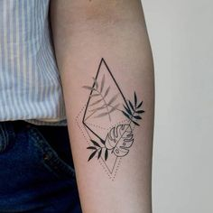 Arm Quote Tattoos, Tattoo Quotes, Small Tattoos, Cool Tattoos, Bohemian Tattoo, Plant Tattoo, Memorial Tattoos, Tattoo Illustration, Flower Doodles