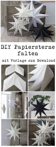 Kids Crafts diy paper crafts for kids Christmas Paper Crafts, Noel Christmas, Christmas Decorations, Origami Christmas, Funny Christmas, Christmas Gifts, Christmas Ideas, Star Decorations, Simple Christmas