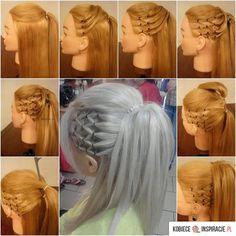 Piękna fryzura - krok po kroku - Kobieceinspiracje.pl