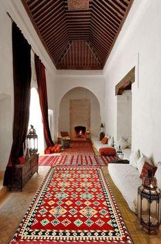 Home Interior Design, Interior Architecture, Interior Decorating, Islamic Architecture, Design Marocain, Le Riad, Morrocan Decor, Moroccan Lanterns, Morrocan House