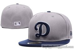 Los Angeles Dodgers Fitted Hats D Letter Baseball Hats 005 15d28059f