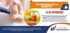 Día Mundial de la Diabetes. Universidad Interamericana Puebla.