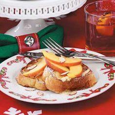 Peaches 'n' Cream French Toast