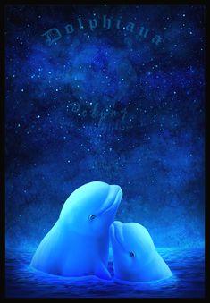 Arctic Night by *DolphyDolphiana on deviantART