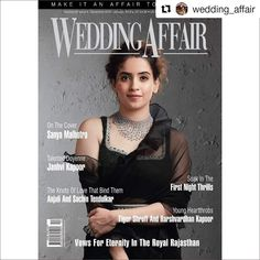 The #Dangal girl Sanya Malhotra adorning our jewellery on December 2018 - January 2019 Wedding Affair Cover.  Jewellery By: Narayan Jewellers  #SanyaMalhotra #WeddingAffair #WeddingAffairMagazine #BadhaiHo #Bride #Brides #IndianBride #IndianBrides #Wedding #Weddings #IndianWedding #IndianWeddings #NarayanJewellers Sanya Malhotra, An Affair To Remember, India Wedding, First Night, Vows, Bride, Cover, Celebrities, Wedding Bride