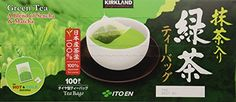 Kirkland Ito En Matcha Blend Japanese Green Tea-100 ct 1.5g tea bags * Check out this great product.
