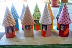 Christmas crafts for kids - 15 toilet paper roll ideas