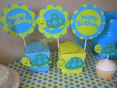 Turtle Birthday for Andrew?