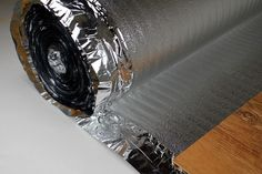25 m2 Impact sound Insulation Vapour barrier Adhesive tape Floor SILVER PLUS 3mm