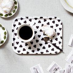 White clover - Small tray - KITCHEN