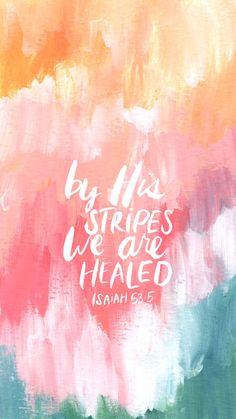 We are healed! #faithart