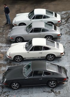 The Porsche 911 is a truly a race car you can drive on the street. It's distinctive Porsche styling is backed up by incredible race car performance. Porsche Classic, Classic Cars, Peugeot, Volkswagen, Vintage Porsche, Vintage Cars, Porsche Carrera, Porche 911, Automobile