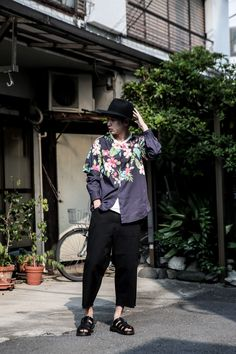 ストリートスナップ原宿 - 鷲野 一行さん | Fashionsnap.com