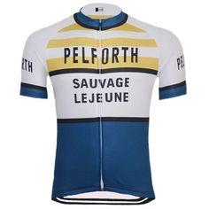 Retro Pelforth–Sauvage–Legeune Cycling Jersey-Online Cycling Gear Cycling  Art c18fa4df7