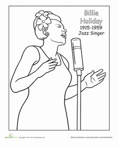 Booker T Washington Coloring Page Black history month