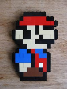 LEGO custom kit: Super Mario Bros Allstars little Mario. $15.00, via Etsy.