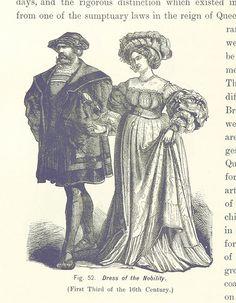 Kleidung des Adels, Anfang des 16. Jahrhunderts
