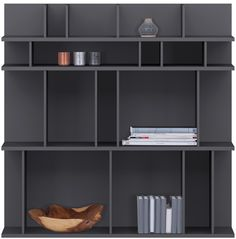 Modern bookcases - Quality from BoConcept £729;   103 x 103 x 31 cm