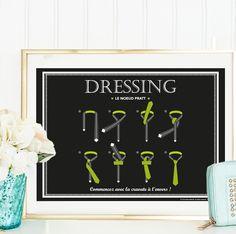 Affiche Le Dressing - à télécharger, à imprimer : Affiches, illustrations, posters par affiche-rgb4you