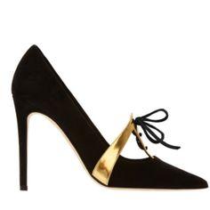Black Statement heels by Pump Shoes, Shoe Boots, Pumps, Kim Kardashian, High Heels, Handbags, Shopping, Black, Fashion