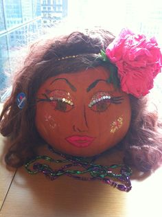 "Do you love arts and crafts? Looking to make your Halloween Pumpkin extra special?  ""Drag"" your pumpkins for our new contest: Make Your Pumpkin Into A Queen!  Contestants have until October 22 to submit photos of their drag queen pumpkins, with Facebook fans voting from October 22 to 29.  The winner will receive seasons 2-4 of RuPaul's Drag Race, an autographed picture of RuPaul and our lifelong admiration. Use makeup, hair, and artistic skills and impress us.. and don't f*ck it up."