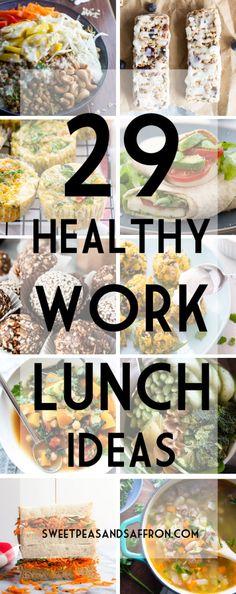 29 Healthy Work Lunch Ideas   sweetpeasandsaffron.com @necie83