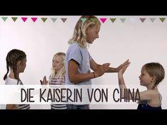Die Kaiserin von China   Klatschspiele Anleitung - YouTube In Kindergarten, China, Percussion, Drums, Theater, Youtube, Movies, Kids, Activities For Kids